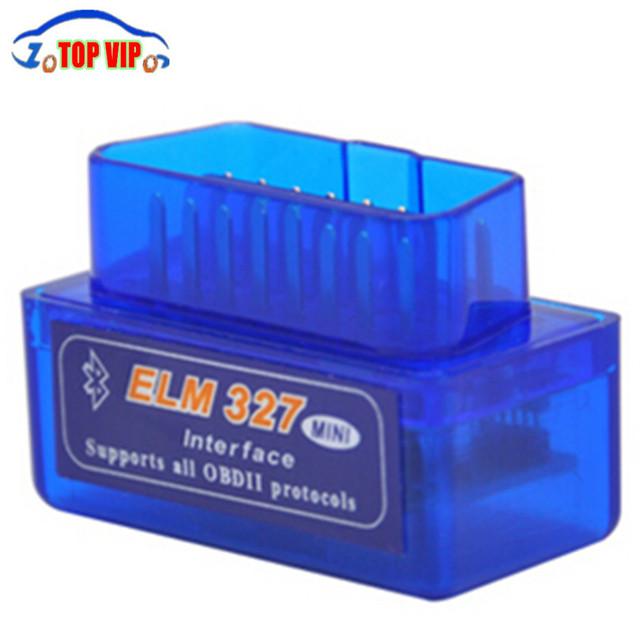 Super Mini ELM327 V1.5 Bluetooth Scanner ELM 327 V1.5 With PIC18F25K80 OBD2 Scanner Support J1850 Protocols