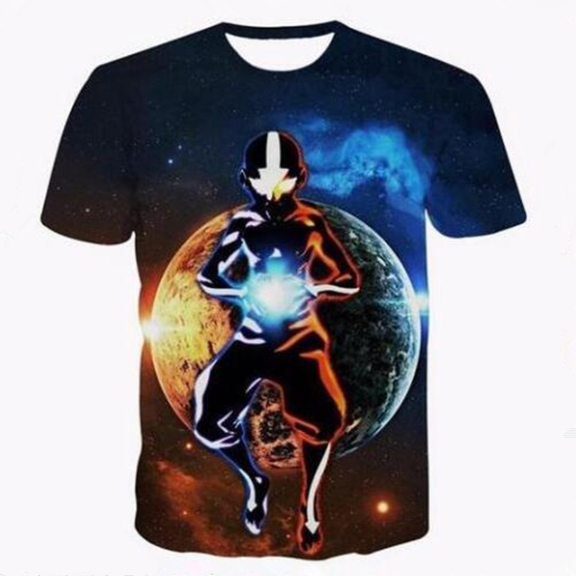 New Avatar The Last Airbender Printed 3d Women/mens T