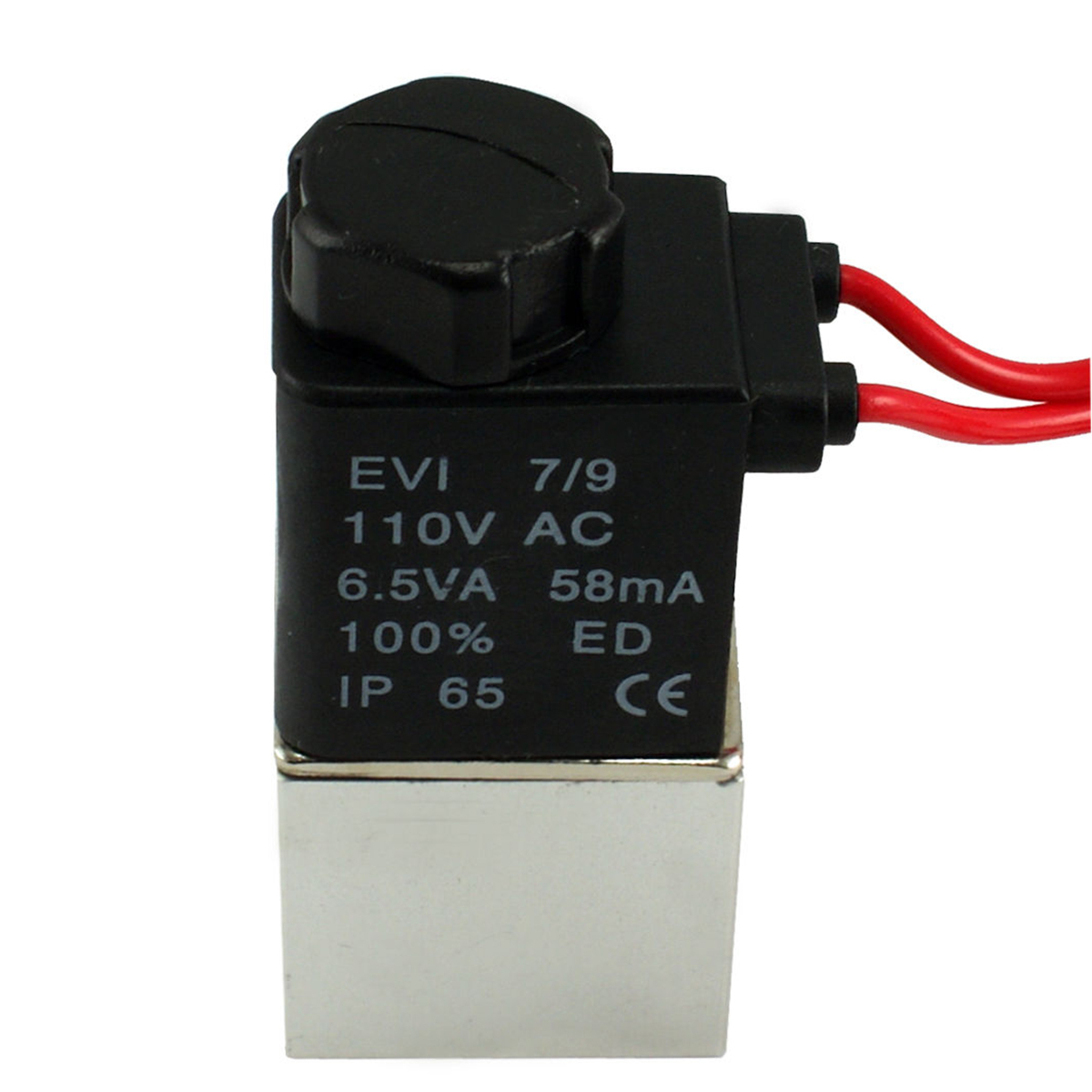 1pc Stable Electric Solenoid Valve Mayitr 1/4 NPT Female Port Brass 2 Way Normally Closed Valves DC 24V/110V for Air Water Gas dc 24v 2 port 2 way 1 2pt female thread pneumatic electric solenoid valve