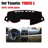Car Dashboard Avoid Light Pad For Toyota YARiS L 2001 2015 Auto Console Avoid Light Pad