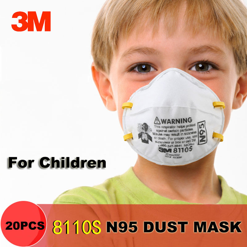 20 pc n95 disposable dust masks
