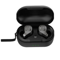 VOBERRY Wireless Headset Portable Bluetooth 5.0 Mini Headset Super Bass Hi Fi Earbuds Sweatproof With Magnetic Charging Case CT