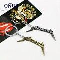 Музыкальная группа оркестр Metallica брелок может дроп-доставка металлические кольца для ключей для подарка Chaveiro брелок ювелирные изделия для автомобилей YS10841