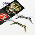 Banda de música orquesta Metallica llavero puede caer el envío de Metal para el regalo Chaveiro clave de cadena de joyería para coches YS10841