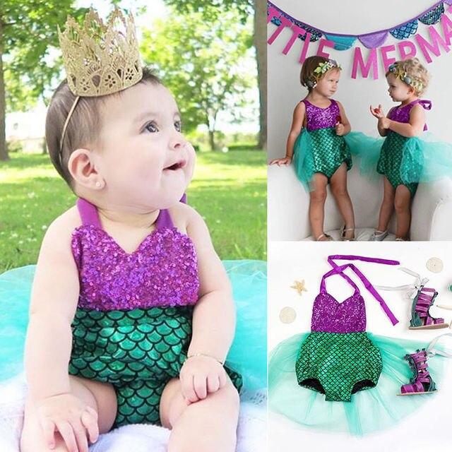 Vestito sirena neonata