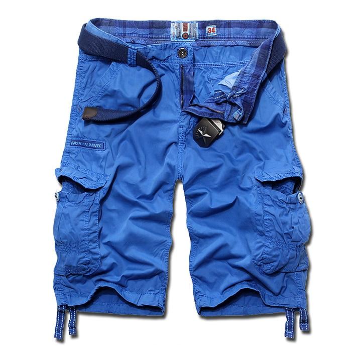 Mens Blue Cargo Shorts Promotion-Shop for Promotional Mens Blue ...