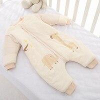 Sunny Ju Baby Sleeping Bag Winter Legs Infant Sleepsacks Toddler Sleep Bag Thick Warm Cotton Kids Anti kick Quilt Size L,XL,XXL