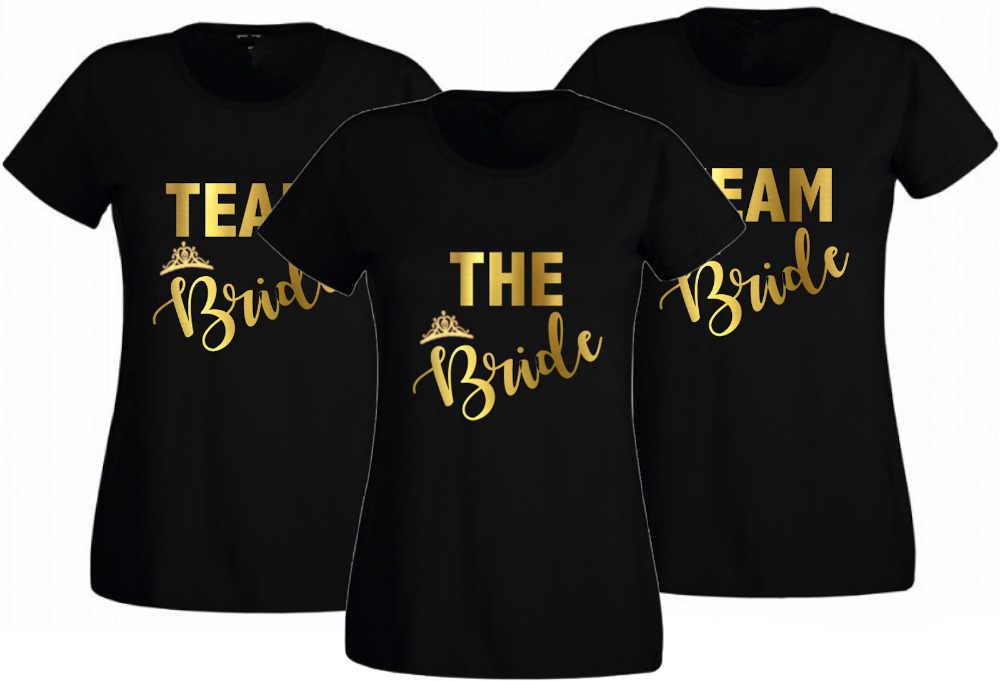 07ed6e2a41 Hen Party T Shirts Hen Do Team Bride T shirt Ladies Custom Printed ...