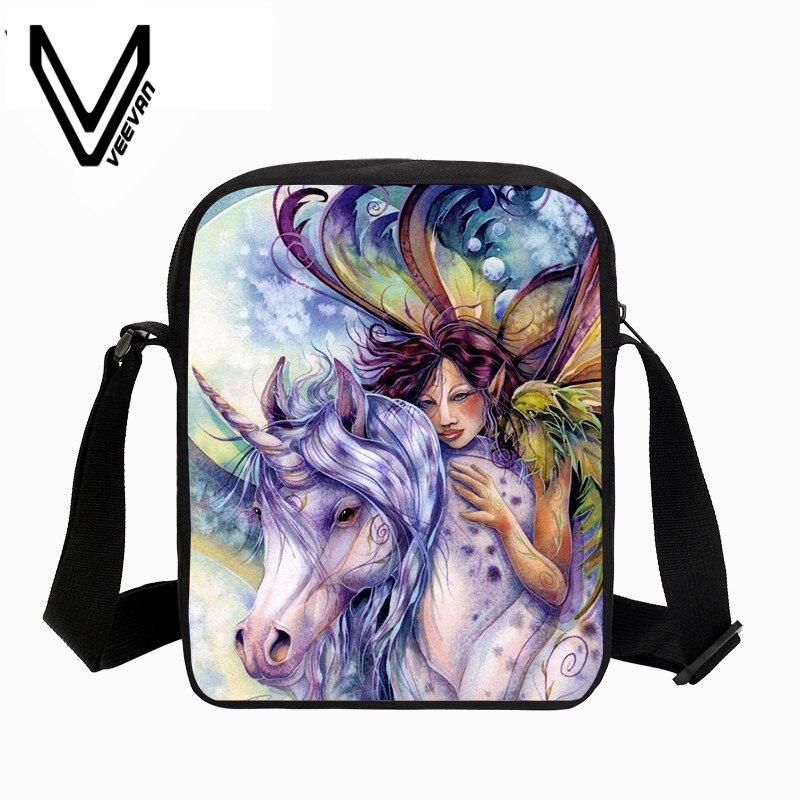 VEEVANV Boys Messenger Bag Rainbow Galaxy Rainbow Girls Shoulder Bag Kids  Kawaii Cartoon Handbag Small Purse Crossbody Bag Daily