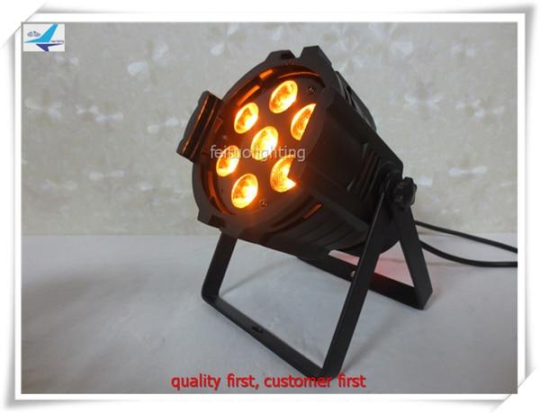 20pcs/lot Mini led par light 7x15W 5 in 1 RGBWA dmx led par 64 stage Lumiere Wash DJ Effect Lights