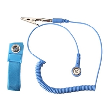 Drop shopping Anti Static ESD Wrist Strap Discharge Band Antistatic Bracelet Grounding Static-Release Wristband with Clip