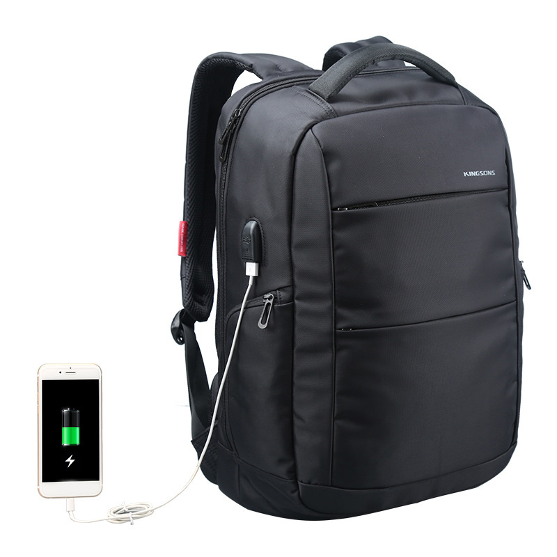 13-15.6 inch Backpack Laptop Bag for Men External USB Charging Backpacks Waterproof School Bags for Teenagers Womens Knapsack voyjoy t 530 travel bag backpack men high capacity 15 inch laptop notebook mochila waterproof for school teenagers students