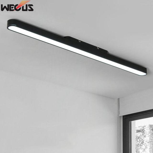 Flourescent strip light wall modern