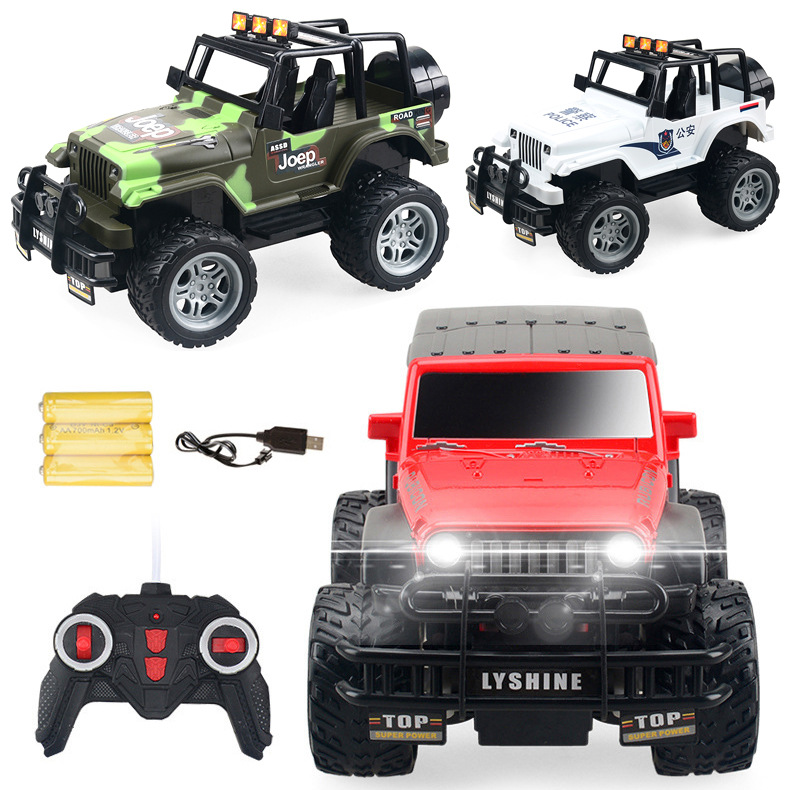 1:18 <font><b>Rc</b></font> <font><b>Car</b></font> <font><b>1/24</b></font> <font><b>Scale</b></font> 4wd Off Road <font><b>Rc</b></font> Crawlers 4x4 Lipo Mini Monster Truck RTR Rock Crawler with Lights 220*130*120mm image