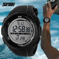 2014 New Skmei Brand Men LED Digital Military Watch 50M Dive Swim Dress Sports Watches Fashion