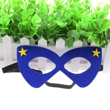 Mask Blue Glasses Super Hero Star Hulk Thor Kids Boy Girl Costume Wars Xmas Avengers DIY Masquerade Eye Cosplay