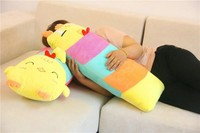 Hot 100cm Big Size Cute Expression Chicken Plush Toys Plush Duck Cloth Doll Soft Sleep Pillow
