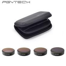 PGYTECH 1 Conjunto = 4 pcs ND4 + + ND8 ND16 + ND32 Lens Filtros DJI Fantasma 4 Acessórios PRO para Phantom 4 PRO Zangão Quadcopter