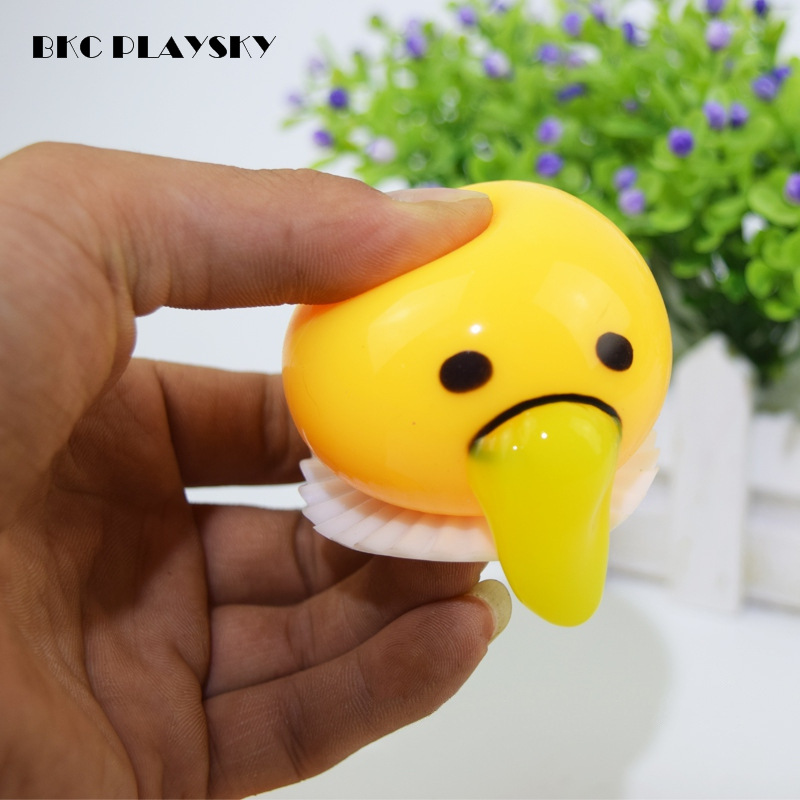 1 piece Novelty Magic Egg Tricky Toy Gudetama antistress slime eggs Fun toys For Kid or adult Gift Gadget