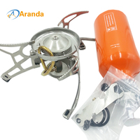 Multi Oil Portable Ra3a Gas Adapter Outdoor Camping Gas Cooker Picnic Stove Brothers Field Gasbrander Three