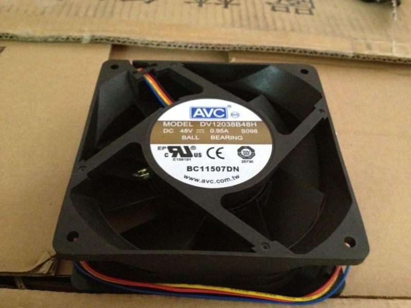 AVC 12CM DV12038B48H 12038 48V 0.95A cooling fan