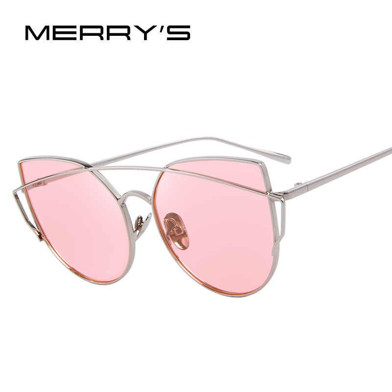 8f988d281d Gafas de sol polarizadas MERRYS para mujer de ojo de gato de marca clásica  de diseñador