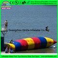 Jogar água bicicleta CE provar louco inflável blob catapulta água Do Mar, Blob Água Inflável, travesseiro de água