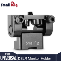 SmallRig Adjustable DSLR Monitor Holder Mount Anti Twist Mini Tilt Pan for Camera Monitor LCD Screen 1842