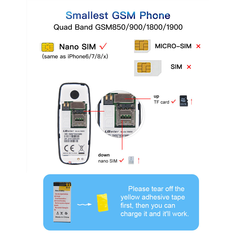 Image 5 - L8star BM10 mini mobile phone Dual Sim Card with MP3 player FM unlocked cellphone voice change bluetooth dialing GSM earphoneBluetooth Earphones & Headphones   -
