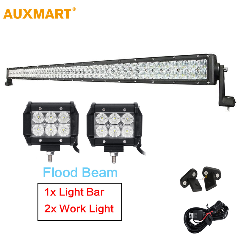 Auxmart 5d Led Light Bar 52inch 300w Straight Bo Beam Rhaliexpress: Car Fog Light Wiring Harness At Elf-jo.com