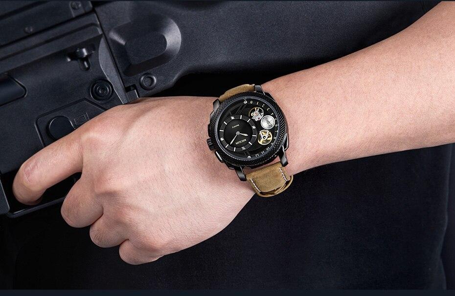 HTB12xMIXZ_vK1Rjy0Foq6xIxVXaz MEGIR Luxury Quartz Watches Stainless Steel Military Wrist Watch