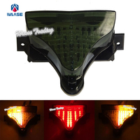 waase Rear Taillight Tail Brake Turn Signal Integrated Led Light For 2009 2010 2011 2012 2013 2014 YAMAHA YZF R1 YZFR1 RN22