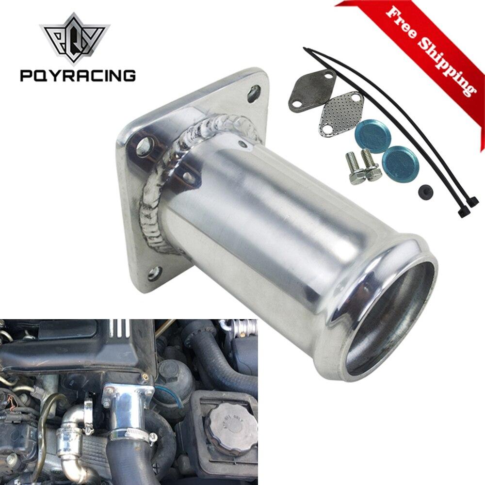 Gratis Pengiriman Aluminium EGR Removal Kit/EGR Menghapus Kit Blanking Bypass untuk BMW E46 318d 320D 330d 330xd 320cd 318td 320td EGR07