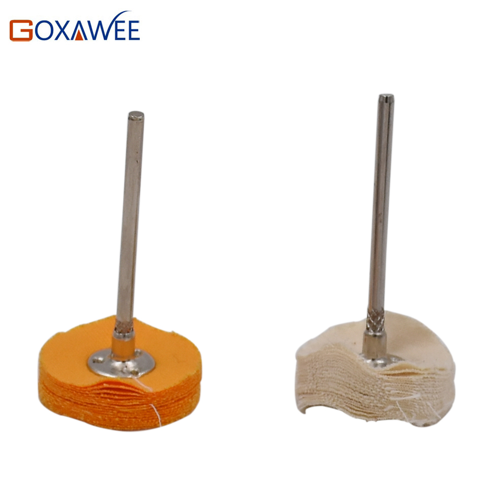 GOXAWEE 10 pezzi Dremel Accessori Lucidatura Ruote Lucidatura - Utensili abrasivi - Fotografia 2