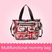 Baby Care Nappy Changing Multifunctional Infant Bags Mother Mummy Bag Baby Shoulder Diaper Bag Backpack Stroller Handbag Travel