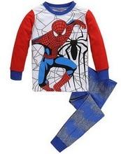 Boy's cartoon long sleeve pyjamas sets