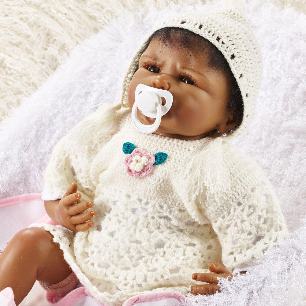 55 cm fait à la main réaliste bébé garçon poupée Silicone vinyle Reborn bambin poupées réel nouveau-né A-213