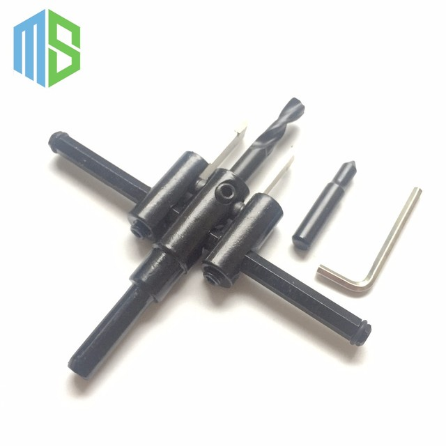 hole saw drill bit adjustable. 30mm-120mm sale screw extractor drill bits handy adjustable metal circle hole saw bit e