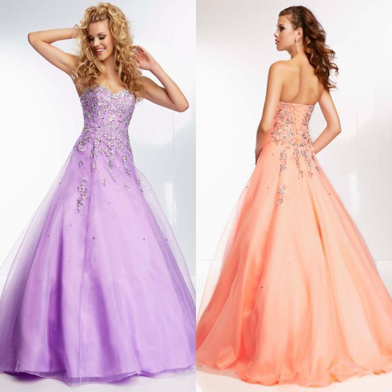 Light Purple Princess Dresses