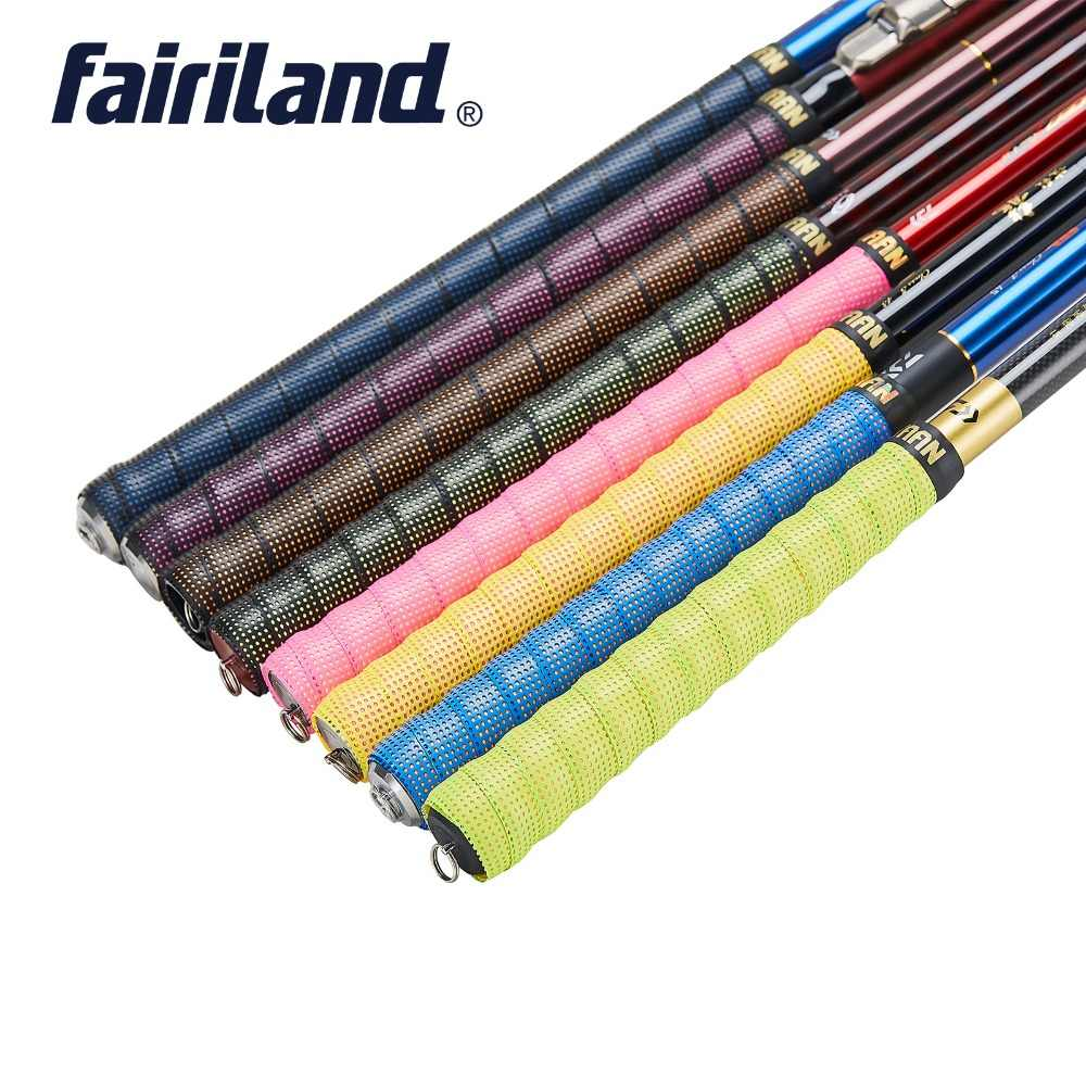 1.6mm Extra Thick Fishing Rod Overgrips Anti-slip Breathable Sport Over Grip Tennis Tape Badminton Racket