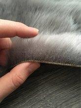 Hairy Carpet Sheepskin Chair Cover