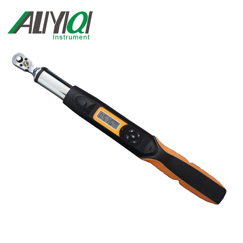 60N.m 3/8 Digital Torque Wrench AWG3 060R Bidirectional ratchet head 36 teeth high accuracy 2% top quality tools-in Force Measuring Instruments from Tools    1