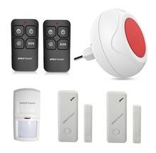 New Wireless DIY Home Security Alarm Burglar System Indoor LED Siren PIR Motion Detector Door Window