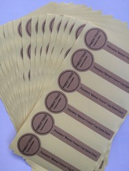 1000pcs free shipping product label die cutting lollipop seal secure tag kraft paper classic nature made.jpg 250x250