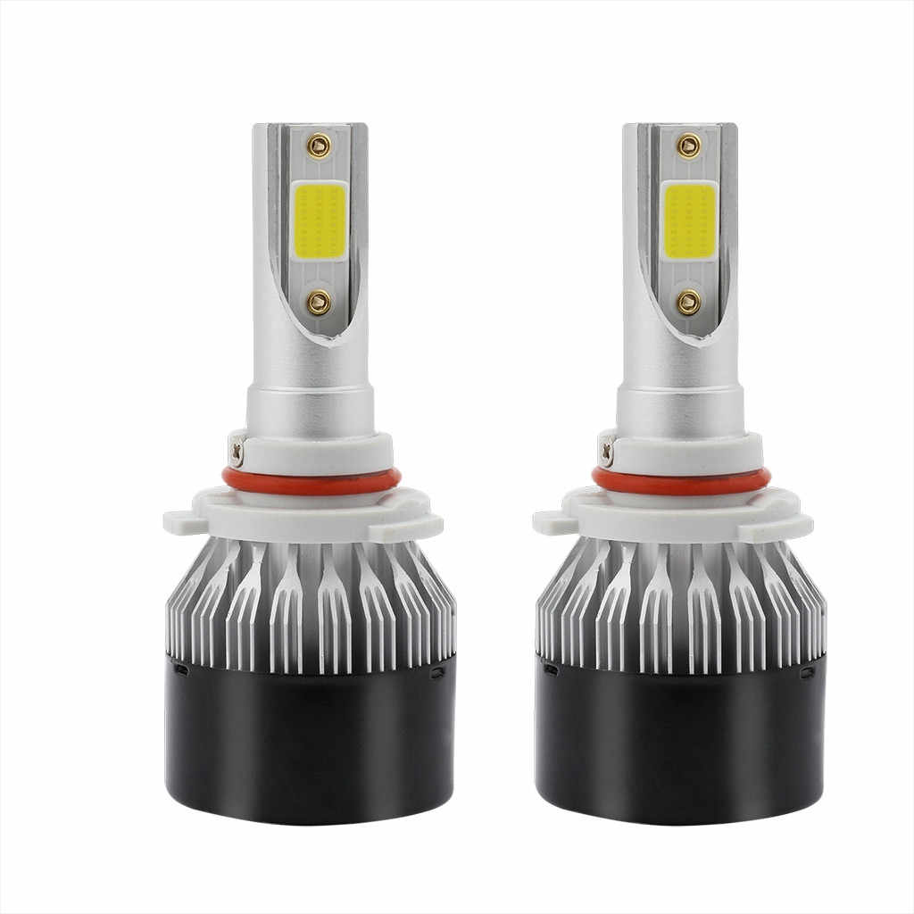 2pcs h7 led EV9 led headlight bulbs 9006 60W 8000LM 6000K White DOB LED  Bulbs High Beam led h4 Headlight lamp ice lamp