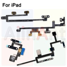 New Button On Off Volume Control Power Flex Cable For iPad 2 3 4 5 6 Air Mini 1 2 3 4 Pro 9.7 10.5 12.9 CDMA 4G 3G Wifi Version(China)