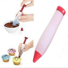 Инструменты для выпечки, силиконовый шоколад, сдавливаемый соус, торт письменная ручка, Доильная ручка, украшения торта