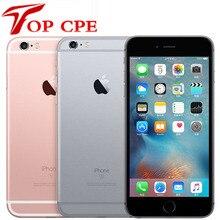 Apple iPhone 6S Plus,, разблокирована, 5,5 дюймов, IOS, 16 ГБ/32 ГБ/64 Гб/128 ГБ rom, 2 Гб ram, МП, двухъядерный, 4G LTE 6SP, мобильный телефон