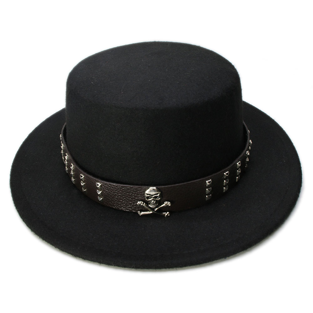 a118c063188d8 Discount for cheap skull fedora and get free shipping - e6iikklm