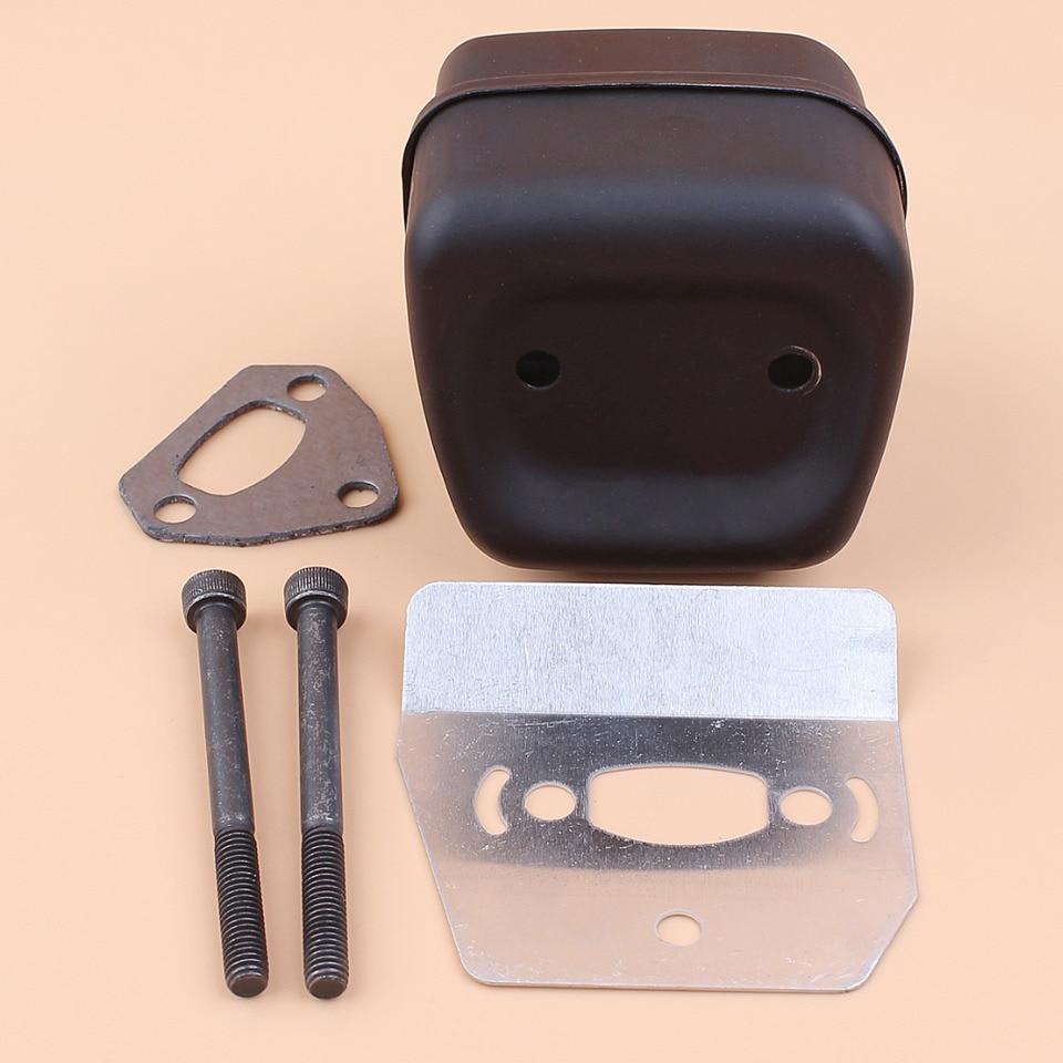 Exhaust Muffler Gasket Bolt Kit Fit for Husqvarna 142 137 141 36 41 Chainsaws
